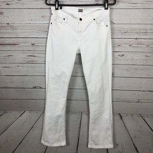COH White 'Amber' Mid Rise Bootcut Jeans - S3